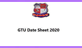 GTU Date Sheet